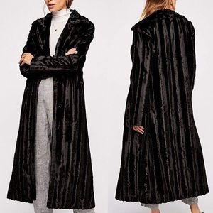 Faux Fur 'Velvet Underground' Midi Coat by UNFUR
